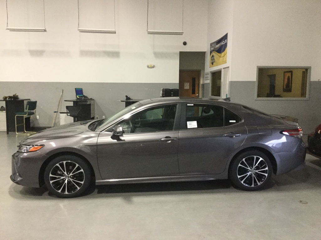New 2019 Toyota Camry Se 4d Sedan In Taylorsville T8971 Carver Toyota