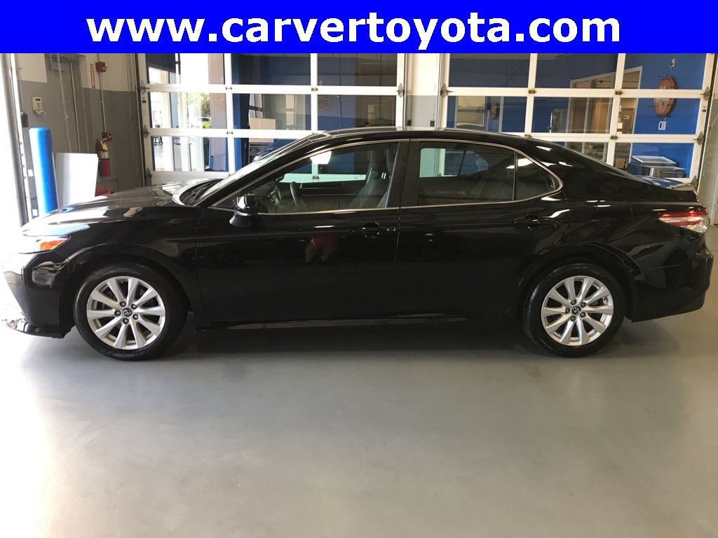 2018 Toyota Camry Le >> Pre Owned 2018 Toyota Camry Le Fwd 4d Sedan