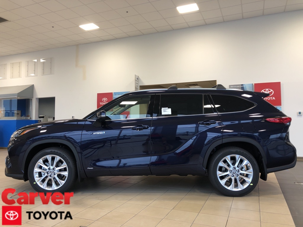 New 2020 Toyota Highlander Hybrid Limited